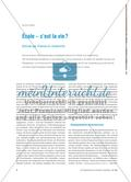 École – c'est la vie ?: Schule als Thema im Unterricht Preview 1