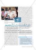 École – c'est la vie ?: Schule als Thema im Unterricht Preview 5