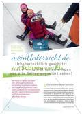 Auf Schnee und Eis - Bewegungsideen zum Gleiten und Rutschen Preview 1
