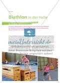 Biathlon in der Halle - Ein winterlicher Spielleichtathletik-Wettbewerb Preview 1
