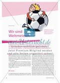 Wir sind Weltmeister! - Vor- und Nachteile des Fußballspiels in der Schule Preview 1