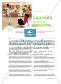 Sport_neu, Primarstufe, Raufen und Ringen, Kämpfen um Objekte oder Räume, Kampf, Capoeira, Kampftanz, Bewegung