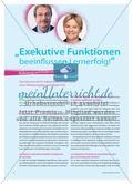 """""""Exekutive Funktionen beeinflussen Lernerfolg!"""" - Bedeutung und Förderung im Schulsport Preview 1"""