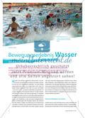 Bewegungserlebnis Wasser - Aufgaben des Schwimmunterrichts an der Grundschule Preview 1