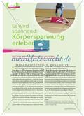 Es wird spannend: Körperspannung erleben - Übungen zur Körperspannung Preview 1