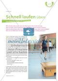 Schnell laufen üben - Schnelligkeitstraining in der Grundschule Preview 1