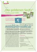 """""""Die goldenen Sechs"""" Das Lauf-ABC - Kindgemäße Laufschulung Preview 1"""