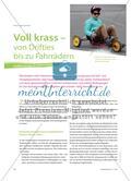 Voll krass – von Drifties bis zu Fahrrädern: Rollfahrzeuge im Sportunterricht Preview 1