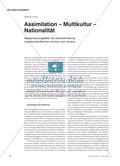 Assimilation – Multikultur – Nationalität Preview 1