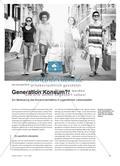 Generation Konsum?! - Zur Bedeutung des Konsumverhaltens in jugendlichen Lebenswelten Preview 1