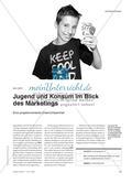 Jugend und Konsum im Blick des Marketings - Eine projektorientierte Unterrichtseinheit Preview 1