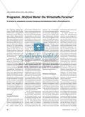 """Programm """"Wa(h)re Werte! Die Wirtschafts.Forscher"""" - Ein Vorhaben zur systematischen curricularen Verankerung wirtschaftsethischer Inhalte im Wirtschaftsunterricht Preview 1"""