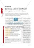 Los niños sicarios en México - Eine Lernaufgabe für den Spanischunterricht in der Oberstufe Preview 1