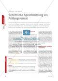 Schriftliche Sprachmittlung als Prüfungsformat Preview 1