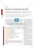 "Desde la perspectiva del faro - Kreativer landeskundlich-literarischer Unterricht mit Paco Rocas ""El faro"" Preview 1"