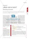 ¿Quién robó el móvil? - Differenzieren bei der Spracharbeit Preview 1