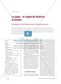 La papa – el regalo de América al mundo: Ein Beispiel für das Globale Lernen im Spanischunterricht Preview 1