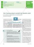 Herr Gummersbach versteht die Genetik nicht! - Eine Lerntheke zum wiederholenden und verknüpfenden Üben Preview 1