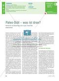 Paleo-Diät – was ist dran?: Recherche und Bewertung einer neuen Trend-Diät Preview 1