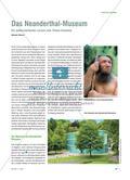 Das Neanderthal-Museum - Ein außerschulischer Lernort zum Thema Evolution Preview 1