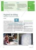 Hygiene im Alltag - Hygieneregeln in einem Lernzirkel erarbeiten Preview 1