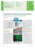 Bakterien: Krankmacher oder Helfer? - Eine Unterrichtssequenz über ein neues Bild von der Welt der Bakterien Preview 1