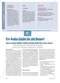 Ein Audio-Guide für die Neuen! - Wenn Schüler Schüler mittels Hörtexte durch die Schule führen Preview 1
