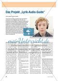 """Das Projekt """"Lyrik-Audio-Guide"""" Preview 1"""