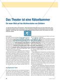 Das Theater ist eine Rätselkammer - Ein neuer Blick auf das Nichtverstehen von Schülern Preview 1