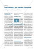 Hilfe für Afrika von Schülern für Schüler - Aktion Tagwerk – Projekte für eine bessere Schulbildung Preview 1