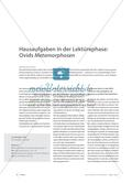 Hausaufgaben in der Lektürephase: Ovids Metamorphosen Preview 1