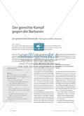 Der gerechte Kampf gegen die Barbaren - Zur griechischen Theorie des πόλεμος φύσει δίκαιος Preview 1