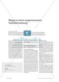 Wege zu einer angemessenen Textübersetzung Preview 1