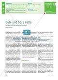 Gute und böse Fette - Den Nährstoff Fett genauer untersuchen Preview 1