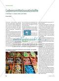 Lebensmittelzusatzstoffe - E-Nummern in Zahlen, Daten und Fakten Preview 1
