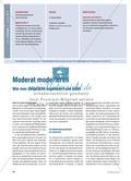 Moderates Moderieren - Organisation und Leitung von Gesprächen Preview 1
