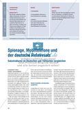Spionage, Mobiltelefone und der deutsche Relativsatz - Satzstrukturen im Deutschen und Türkischen vergleichen Preview 1