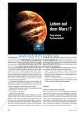 Leben auf dem Mars !? - Eine kleine Textwerkstatt Preview 1