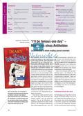 """""""I'll be famous one day"""" – Memoiren eines Antihelden: Leseeindrücke in einem reading journal sammeln Preview 1"""