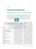 Puzzling out the Mabo Story - Die Relevanz des Mabo Case für die australische Geschichte erkennen Preview 1