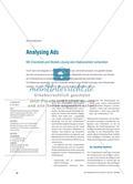 Analysing Ads - Mit Checkliste und Modell-Lösung eine Klassenarbeit vorbereiten Preview 1