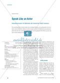 Speak Like an Actor - Intonationsmuster mit Methoden des szenischen Spiels trainieren Preview 1