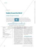 English Around the World - Varietäten des Englischen erforschen Preview 1