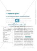 """I identify as queer"" - Mit queer autobiographical narratives Identitätsentwürfe erkunden Preview 1"