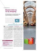 Förderung kommunikativer Kompetenz: Shopping Preview 1