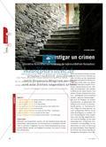 Investigar un crimen - Interaktive Krimirätsel zur Förderung der kommunikativen Kompetenz Preview 1