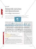 Solidarität zwischen den Generationen - Eine Lernaufgabe im Spanischunterricht Preview 1