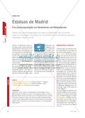 Estatuas de Madrid - Eine Zuordnungsaufgabe zum Kennenlernen und Wiedererkennen Preview 1