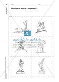 Estatuas de Madrid - Eine Zuordnungsaufgabe zum Kennenlernen und Wiedererkennen Preview 3