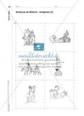 Estatuas de Madrid - Eine Zuordnungsaufgabe zum Kennenlernen und Wiedererkennen Preview 4